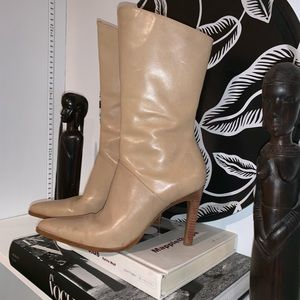 VTG Leather boots Made in Brazil